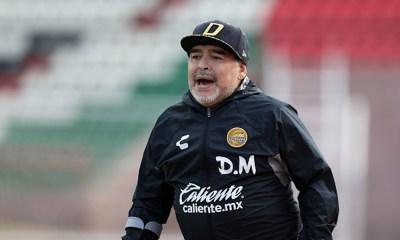 Maradona podría llegar a un equipo de Primera División