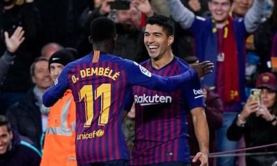 Suárez criticó la actitud de Dembélé