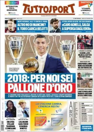 diarios deportivos del 10 de noviembre de 2018