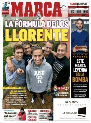 La formula de los Llorente en el futbol profesional. (Marca)