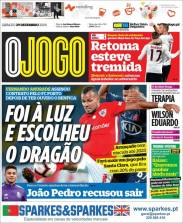 Fernando Andrade firmó contrato con el Porto y rechazó llegar al Benfica. (O Jogo)
