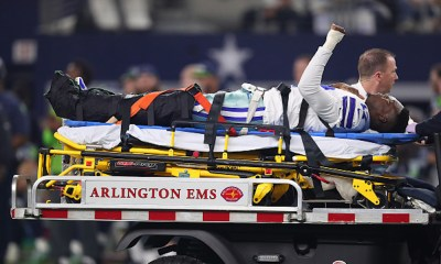 Allen Hurns sufrió una escalofriante lesión