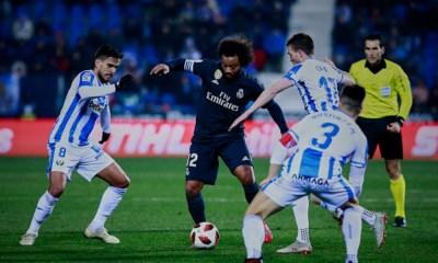 Real Madrid pierde frente al Leganés