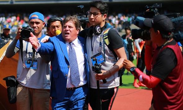 'Piojo' Herrera encaró a un reportero