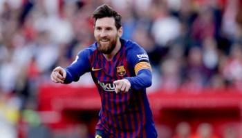 hat-trick espectacular de Messi