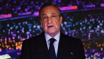 Florentino Pérez eligió entre Neymar y Mbappé