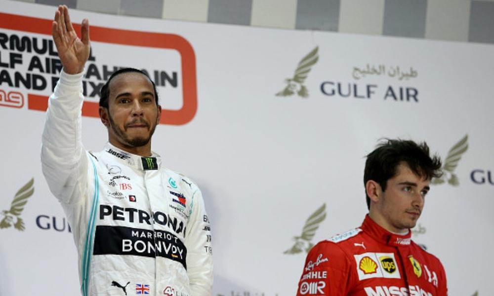Hamilton le arrebató la victoria a Leclerc