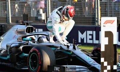 Hamilton obtuvo la pole position en Australia