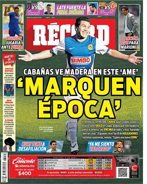 diarios deportivos del 16 de abril de 2019