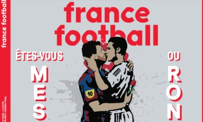 Messi y Cristiano protagonizan portada de France Football