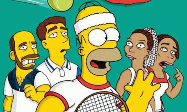 Tenistas Simpson