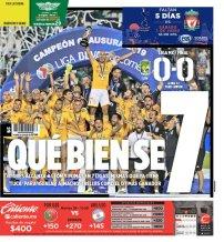 diarios deportivos del 27 de mayo de 2019