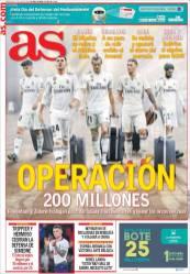 Gareth Bale, James Rodríguez, Isco, Marco Asensio y Dani Ceballos, serían otras bajas del Real Madrid. (As)