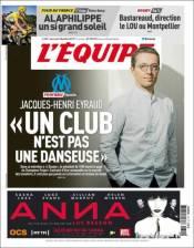 El Presidente del Olympique de Marsella, Jacques-Henri Eyraud, espera que en los próximos días se realicen los nuevos fichajes del club. Además, 'Chicharito' y Dario Benedetto estarían en la órbita de este equipo. (L'Equipe)