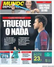 El Barça pide intercambio de jugadores por Neymar, pero el PSG quiere recuperar los 222 MDE. ¿En qué terminará esta historia? (Mundo Deportivo)