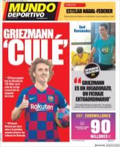 El Barcelona por fin logrará tener al francés Griezmann en su plantilla. (Mundo Deportivo)