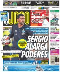 Sérgio Conceição, mencionó las características que debe tener su equipo para la siguiente temporada. (O Jogo)
