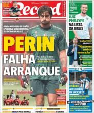 Mattia Perin se encuentra lesionado y complicaría su llegada al Benfica. (Record)