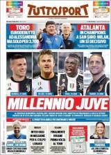 Merih Demiral, Moise Kean, Adrien Rabiot y Matthijs de Ligt serán los nuevas joyas de la Juve para la próxima temporada. (Tuttosport)