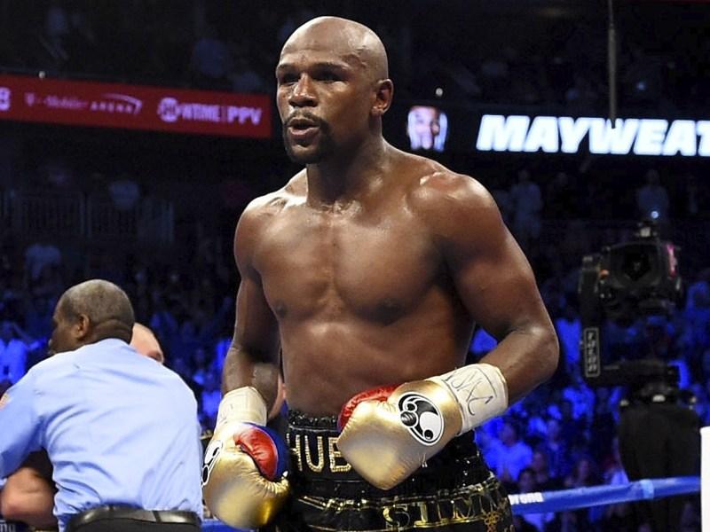Floyd Mayweather Jr. pelea Logan Paul