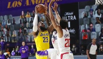 Lakers vs Clippers NBA 20/21