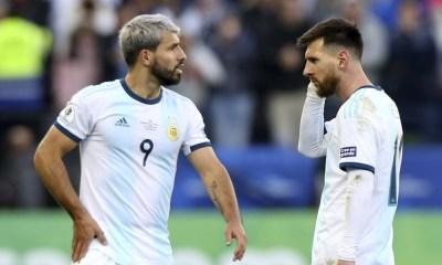 Messi y Agüero en el PSG