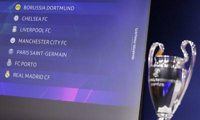 Cuartos de final en Champions League