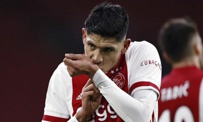 Edson Álvarez anotó con el Ajax