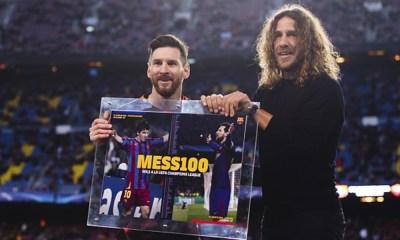 Puyol habló sobre futuro de Messi