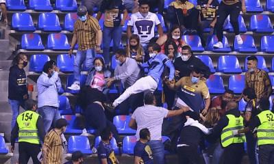 Apareció la violencia en los estadios