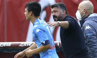 Gattuso habría discutido con Lozano