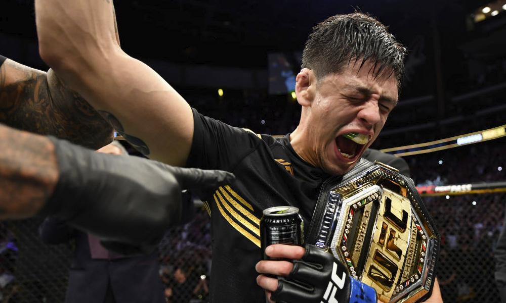 Brandon Moreno campeón de la UFC