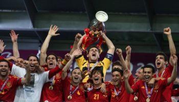 máximos ganadores de la Eurocopa