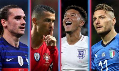 candidatos para el título de la Eurocopa