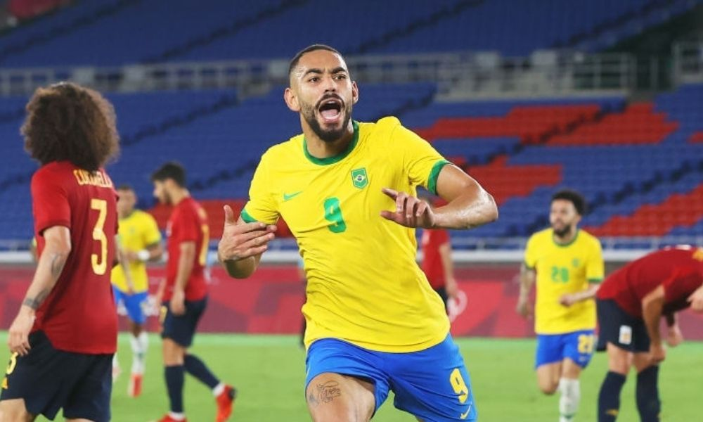 Brasil venció a España Sub 23 en Tokio 2020