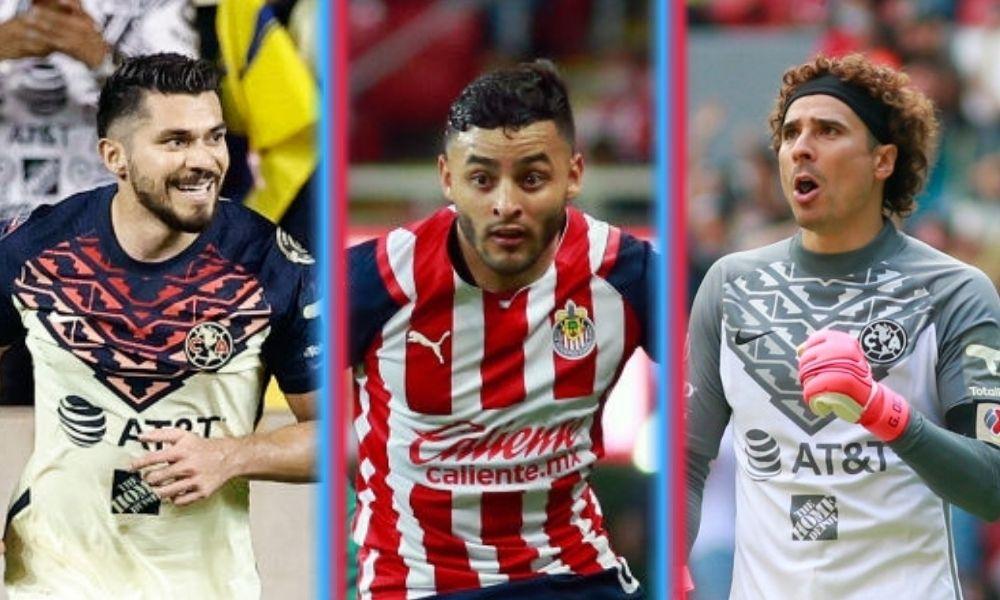 futbolistas que jugarán el Clásico Nacional