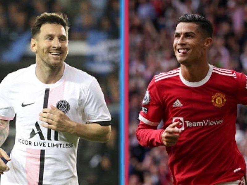 Messi más dobletes que Cristiano