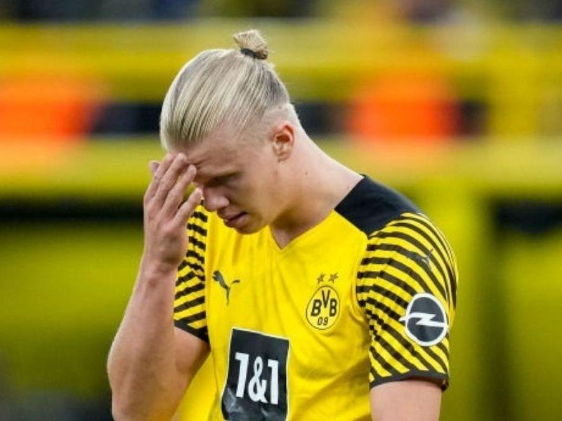 Haaland es baja del Borussia Dortmund