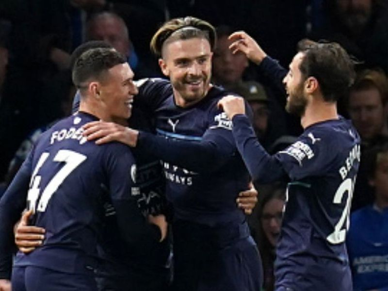 Manchester City venció al Brighton