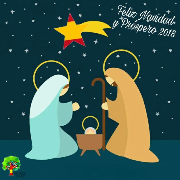 feliz navidad fundación denaes