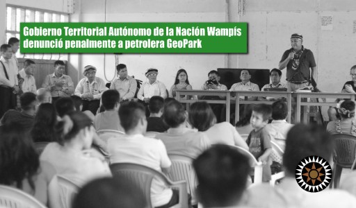 GTANW denunció penalmente a funcionarios de GeoPark