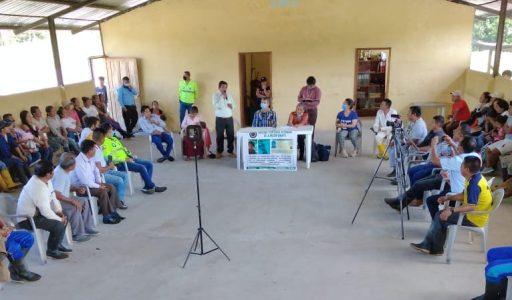 Familiares de niña wampis desaparecida de Boca Chinganaza se reunieron con autoridades ecuatorianas para acelerar investigación