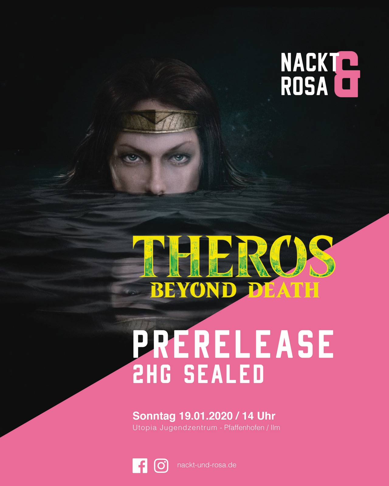 Season 2 - Spieltag 4 - Two Headed Giant Theros Beyond Death Sealed PreRelease