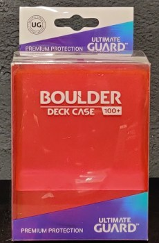 Ultimate Guard - Boulder Case - Rhodonite
