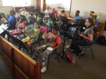 Brass lessons took place in Valhalla, Pretoria in South Africa