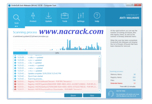 GridinSoft Anti Malware 4.1.81 Crack Keygen Plus License Key 2021 Free Download
