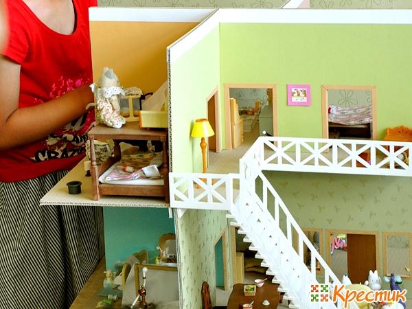 Sledujte domy pro panenky