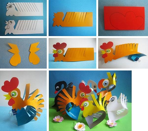 Bagaimana untuk membuat ayam jantan