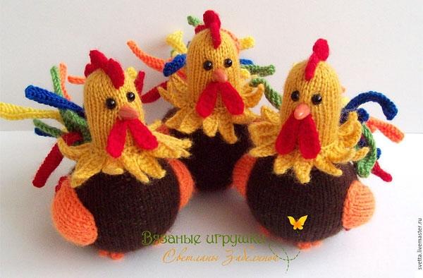 Rooster Crochet Master Class