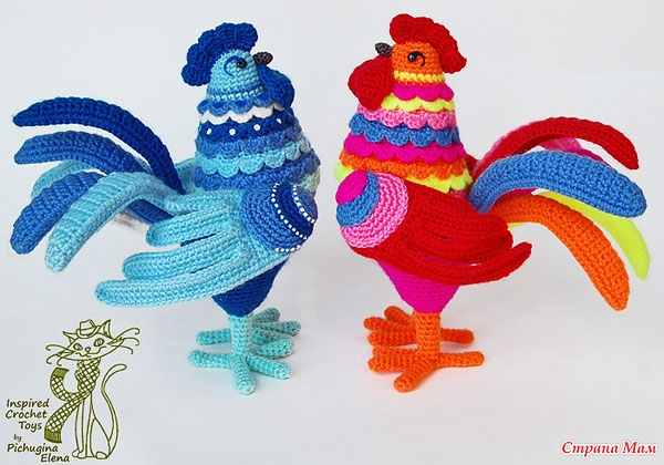 Gallo in una tecnica quilling
